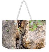 Nature's Wood Abstract Weekender Tote Bag