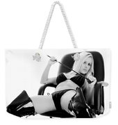 Naughty Girl Weekender Tote Bag
