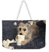 Naughty Schnauzer Weekender Tote Bag