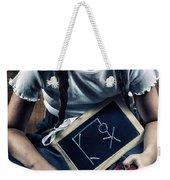 Naughty School Girl Weekender Tote Bag