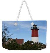 Nauset Beach Light Weekender Tote Bag