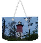 Nauset Lighthouse Amid The Scrub Pines Weekender Tote Bag