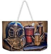 Nautical - Antique Dive Helmet Weekender Tote Bag
