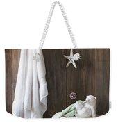 Nautical Bathroom Weekender Tote Bag