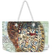 Nautical Journey-d Weekender Tote Bag