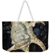 Nautical Tropical Seashell Weekender Tote Bag