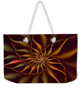 Nautilus Fractalus Tropical Weekender Tote Bag