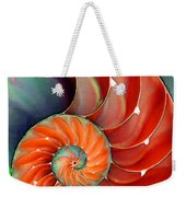 Nautilus Shell - Nature's Perfection Weekender Tote Bag