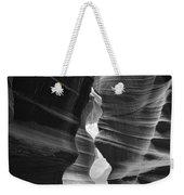 Antelope Canyon Black And White Weekender Tote Bag