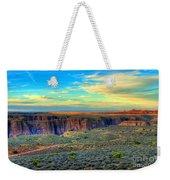 Navajo Sunset Weekender Tote Bag