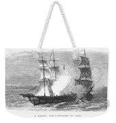 Naval Battle, 1779 Weekender Tote Bag