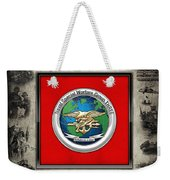 Naval Special Warfare Group Three - N S W G-3 - Over Navy S E A Ls Collage Weekender Tote Bag