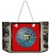 Naval Special Warfare Group Two - N S W G-2 - Over Navy S E A Ls Collage Weekender Tote Bag