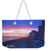 Navarre Beach Fl 2013 10 30 I Weekender Tote Bag