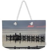 Navarre Beach Sunset Pier 18 Weekender Tote Bag