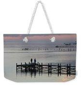 Navarre Beach Sunset Pier 33 Weekender Tote Bag