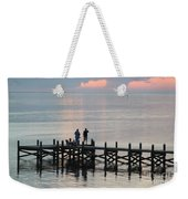 Navarre Beach Sunset Pier 35 Weekender Tote Bag