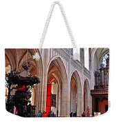 Nave Of The Church Of Our Lady Weekender Tote Bag