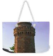 Navesink Twin Lights Lighthouse Weekender Tote Bag