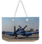 Navy Corsair Weekender Tote Bag