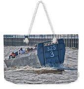 Navy Landing Craft 325 Weekender Tote Bag