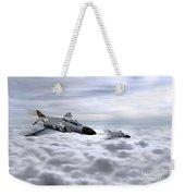 Navy Phantoms Weekender Tote Bag