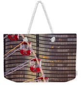 Navy Pier Wheel Chicago Weekender Tote Bag