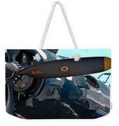 Navy Props Weekender Tote Bag