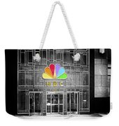 Nbc Facade Selective Coloring Weekender Tote Bag