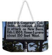 Nc-a62 Henry M. Shaw Weekender Tote Bag