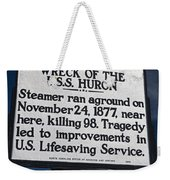 Nc-b31 Wreck Of The U.s.s. Huron Weekender Tote Bag