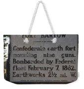 Nc-bbb2 Fort Bartow Weekender Tote Bag