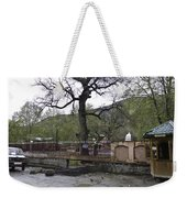 Near Entrance To Hindu Temple Of Mattan Weekender Tote Bag