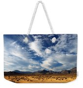Near The Intersection Of God And The Eastern Sierras Weekender Tote Bag