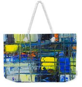 Near The Sunrise - Abstract Original Painting - Abwgc1 Weekender Tote Bag