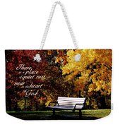 Near To The Heart Of God Weekender Tote Bag