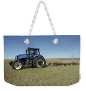 Nebraska Farming Weekender Tote Bag