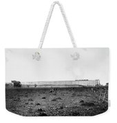 Nebraska Railroad Trestle Weekender Tote Bag