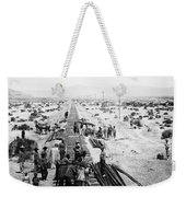 Nebraska Railroad Work Weekender Tote Bag