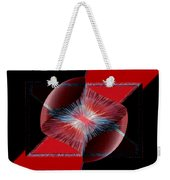 Nebulous 1 Weekender Tote Bag by Angelina Vick