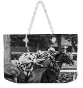 Neck And Neck Weekender Tote Bag