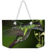 Nectar Feeding Hummingbird Weekender Tote Bag