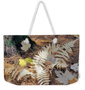 Needles And Leaves Weekender Tote Bag