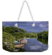 Negril River Weekender Tote Bag