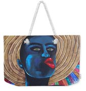 Negrito In Carnival Weekender Tote Bag
