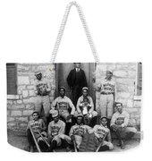 Negro Baseball Weekender Tote Bag