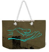 Nehemiah Books Of The Bible Series Old Testament Minimal Poster Art Number 16 Weekender Tote Bag by Design Turnpike
