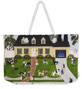 Neighborhood Dog Show Weekender Tote Bag