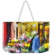Neighborhood Flower Shop Weekender Tote Bag