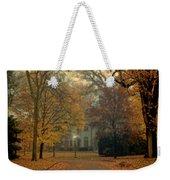 Neighborhood Street In Autumn Weekender Tote Bag